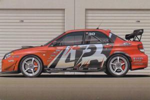 4 Door SP Engineering, Street Racing Car PC #3
