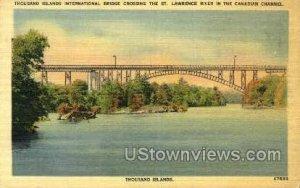 ThoUSA nd Island International Bridge - ThoUSA nd Islands, New York