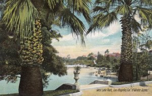 LOS ANGELES, California, 1909; West Lake Park, A Winter Scene
