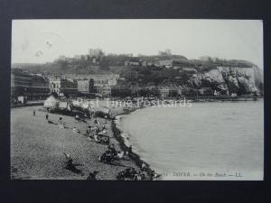 Kent DOVER On the Beach c1907 Postcard by LL. No.11
