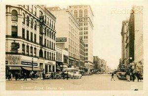 WA, Spokane, Washington, Street Scene, Ellis No. 5408, RPPC