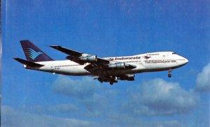 GARUDA INDONESIAN AIRWAYS...view of a Boeing 747-2U3B, 1980s