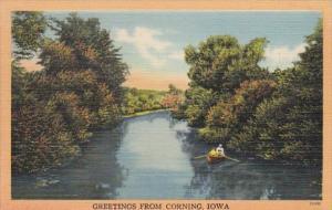 Iowa Greetings From Corning