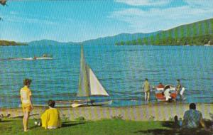 Sailing On Lake George New York