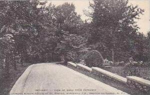 New York Ossining On Hudson Bethany View of Road From Entrance Albertype