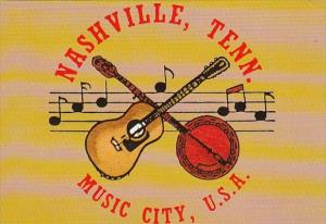 Tennessee Nashville Greetings From Nashville Music City U S A