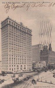 Old & New NYC , New York , 00-10s ; whitehall Bldg & No. 1 Broadway