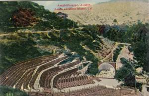 CATALINA ISLAND , California ; 1900-10s ; Amphitheater , AVALON