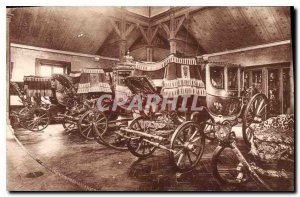 Postcard Old Versailles Grand Trianon baptism Car of the King of Rome