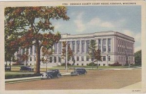 Wisconsin Kenosha Kenosha County Court House 1944