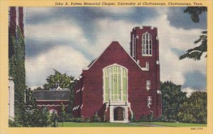 John A Patten Memorial Chapel University Of Chattannooga Chattanooga Tennesse...