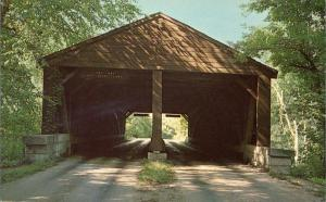 Brown County State Park Indiana - Two Lane Covered Bridge