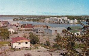 YELLOWKNIFE , N.W.T. , Canada , 50-60s ; Joliffe Island with Fuel Storage Tanks
