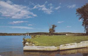 Pont Perley Bridge, Lake, HAWKESBURY,  Ontario, Canada, 40-60´s