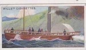 Wills Vintage Cigarette Card Celebrated Ships No 26 The Charlotte Dundas  1911