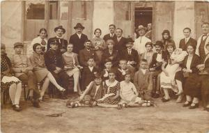 Romania Tileagd Mezotelegd 1929social history photo postcard