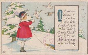 CHRISTMAS Girl by artist M.E.P. , 00-10s