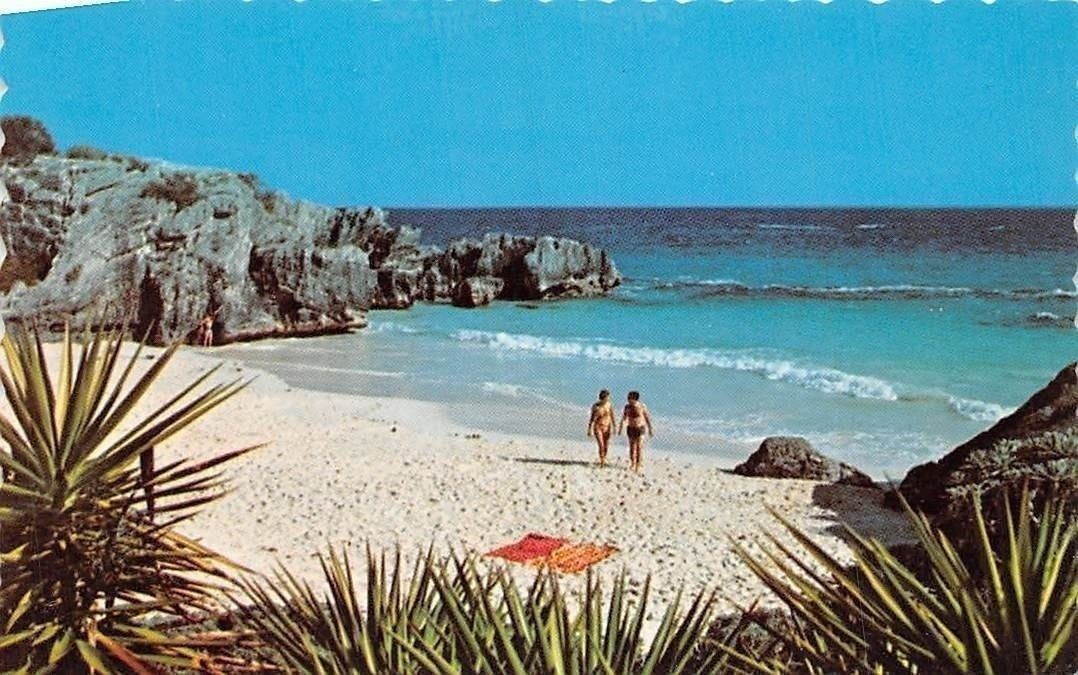 cost charm vast selection good out x Bermuda Southampton Horseshoe Bay, Sunbathing, Plage, Beach ...