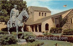 Claremore, OK, USA Postcard Post Card Will Rogers Memorial