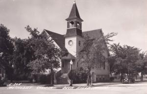 Deer River Minnesota Methodist Church Real Photo Old USA Postcard