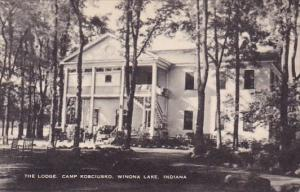 The Lodge Camp Kosciusko Winona Lake Indiana Artvue