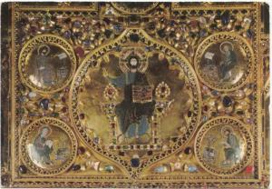 VENEZIA, Basilica di S. Marco, Pala d'oro, Cristo Pantocrator