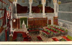 New York Albany State Capitol Senate Chamber