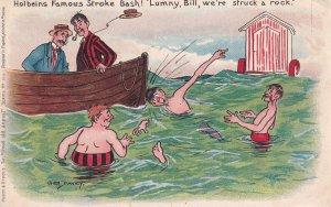 PU-1906; Holbeins Famous Stroke Bash! Lummy, Bull We're Struck A Rock