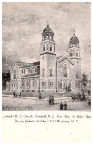 New Jersey Plainfield  St. Joseph's R.C. Church