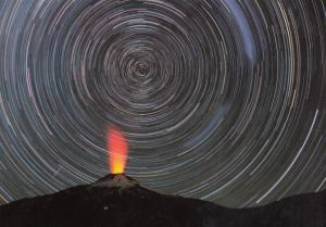 Araucania Argentina Volcano Postcard