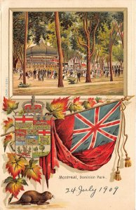 br105918 dominion park montreal canada  litho