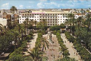 Spain Sevilla Plaza Nueva y Hotel Inglaterra