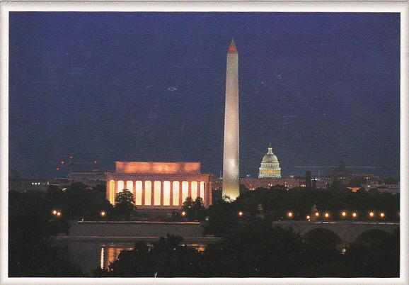 Washington Monument At Night Washington DC