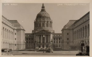 RP: SAN FRANCISCO, Ca., 1930-40s ; City Hall ; Version-2