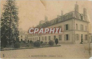 Postcard Old Beaumont Sur Oise Hospice