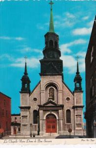 Canada Quebec Montreal Notre Dame De Bon Secours Church