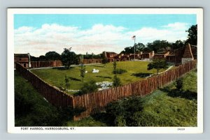 Harrodsburg, KY-Kentucky, Fort Harrod, Vintage Postcard