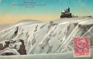 Czech Republic - Riesengebirge Grosse Schneegrube mit Baude hohes Rad 02.56
