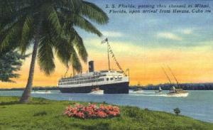 S. S. Florida Miami FL Unused