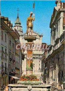 Postcard Modern Solothurn Hauptgasse