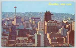 Seattle Washington~Business District Skyline~Olympic Nat'l~Rhodes~Savoy~1960s