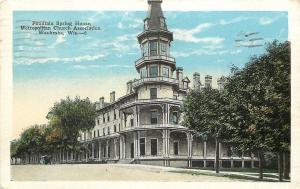 Waukesha Wisconsin~Fountain Spring House~Metropolitan Church Association~1920s