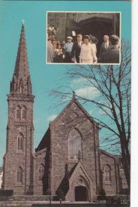 St. Mary's Church, Newport, RI, John F. Kennedy Marriage location, Postcard