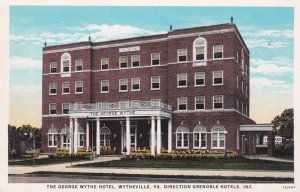 WYTHEVILLE, Virginia, 1930; The George Wythe Hotel