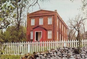 California Old Columbia Schoolhouse