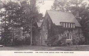 New York Maryknoll-On-Hudson The Field Afar Office From The state Road Albertype
