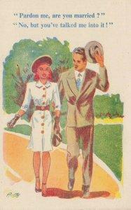 Comic Postcard Garland, Rudolf & Co. W127, Seaside Joke, Humour KL1