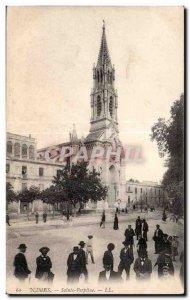 Old Postcard Nimes St. Perpetua