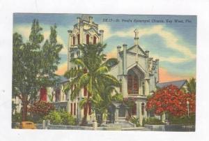 St. Paul's Episcopal Church (Exterior),Key West,FL,1954