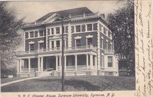 D K E Chapter House Syracuse University Syracuse New York 1906